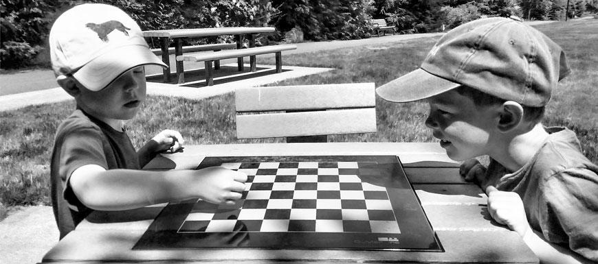 Presupuestos Participativos, propuesta mesas de ajedrez parques del barrio